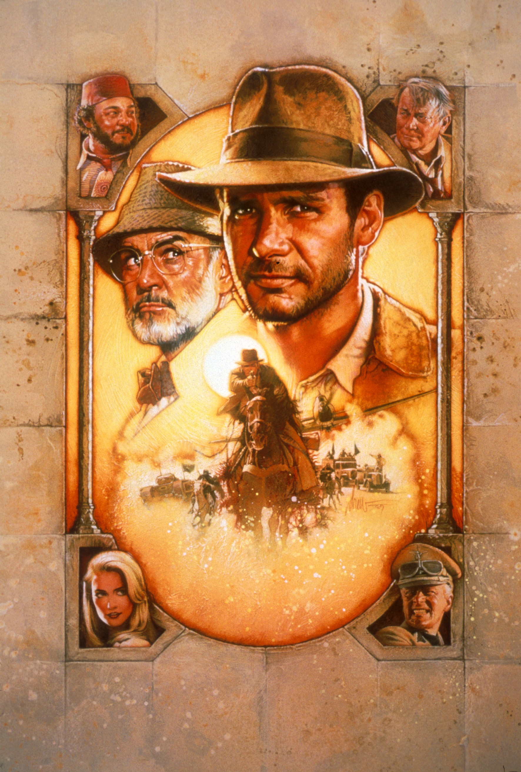 Poster av Indiana Jones and the Last Crusade